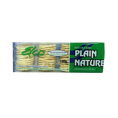Elco Plain Rice Crackers