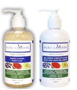 Bleu Lavande Lavender-Melon Hand Soap & Body and Hand Gel Cream
