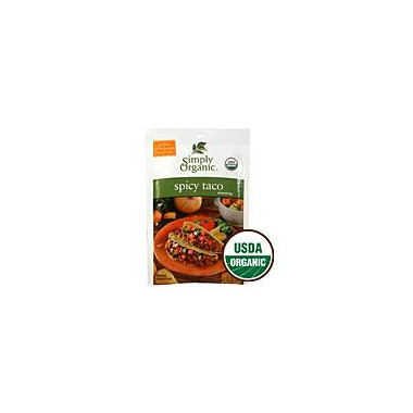 Simply Organic Spicy Taco Seasoning Mix