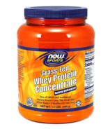 NOW Sports Grass-Fed Whey Protein Concentrate