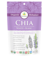 Ecoideas Organic White Chia Seeds