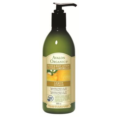 Avalon Organics Lemon Hand & Body Lotion