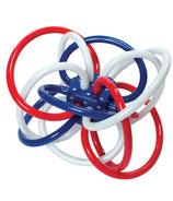 Manhattan Toy Winkel Teether Red, White & Blue