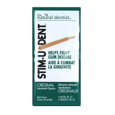 The Natural Dentist Stim-U-Dent Original Interdental Cleaners