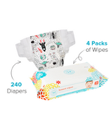 The Honest Company Size 2 Diapers & Wipes Bundle