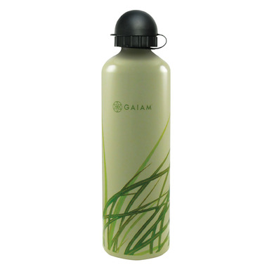 Gaiam Grass Aluminum Water Bottle