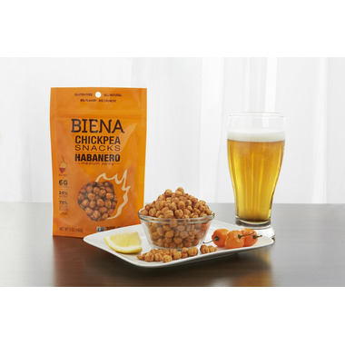 Biena Foods Chickpea Snacks Habanero