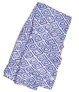 Little Unicorn Cotton Muslin Swaddle Blanket Blue Topaz
