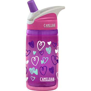 Camelbak Kids Eddy Insulated Water Bottle Pink Hearts