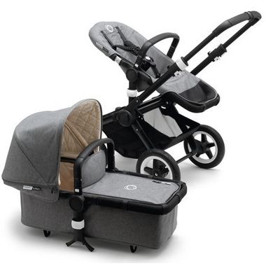 Bugaboo Buffalo Stroller Classic+ Collection Grey Melange