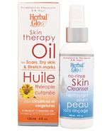 Herbal Glo Skin Therapy Oil + No-Rinse Skin Cleanser