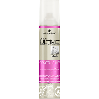Schwarzkopf Styliste Ultime Crystal Shine Hair Spray
