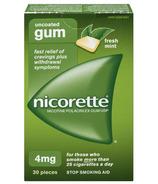 NICORETTE Gum Fresh Mint