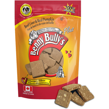 Benny Bully\'s Beef Liver Plus Pumpkin Dog Treats