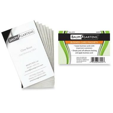 Baumgartens Magnetic Business Card