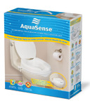 AquaSense Raised Toilet Seat with Lid