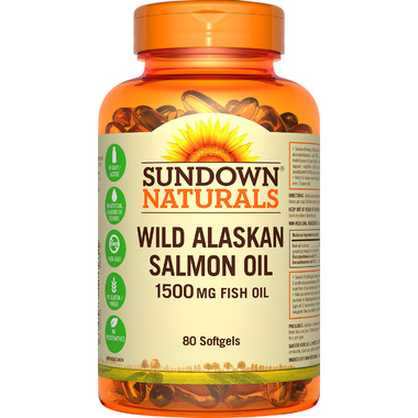 Sundown Naturals Wild Alaskan Salmon Oil