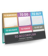 Knock Knock To Accomplish Sticky Note Packet
