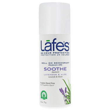 Lafe\'s Soothe Roll-On Deodorant with Lavender & Aloe