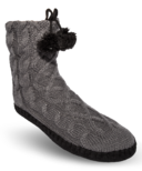 Pudus Cable Knit Grey Classic Sole S/M