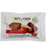 Art of Raw Cacao Goji Brownie Raw Bar