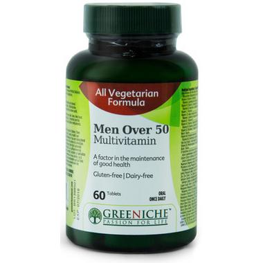 Greeniche Men\'s 50+ Multivitamin