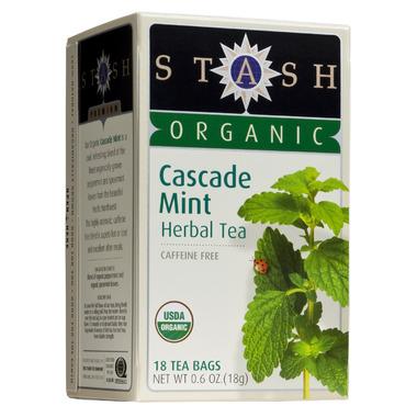 Stash Organic Cascade Mint Herbal Tea