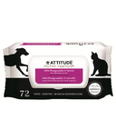 Attitude 100% Biodegradable & Natural Pet Grooming Wipes