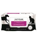 Attitude 100% Biodegradable & Natural Pet Grooming Wipes