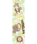 WallPops Jungle Friends Growth Chart