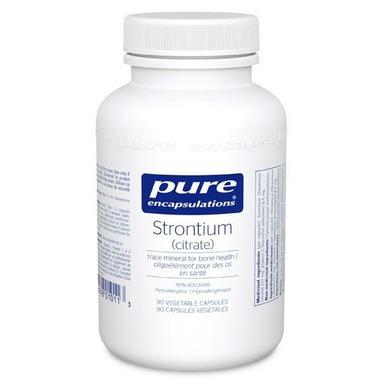 Pure Encapsulations Strontium (Citrate)