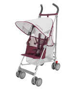 Maclaren Volo Silver and Plum