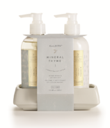 Illume Mineral Thyme Hand Soap & Lotion Set