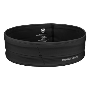 Nathan Sports The Hipster Waist Belt with Pockets Black