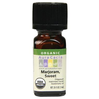 Aura Cacia Marjoram Sweet Organic Essential Oil