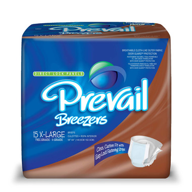 Prevail Breezers Adult Briefs