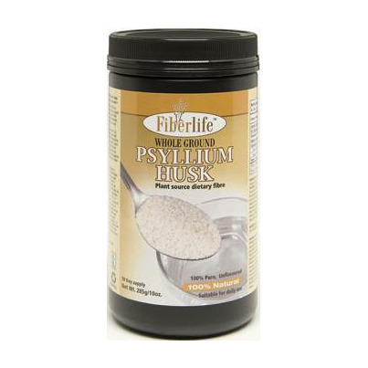 Ground psyllium husk powder