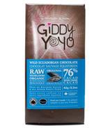 Giddy Yoyo Organic Original 76% Dark Chocolate Bar