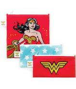 Bumkins DC Comics Trio Snack Bags Wonder Woman