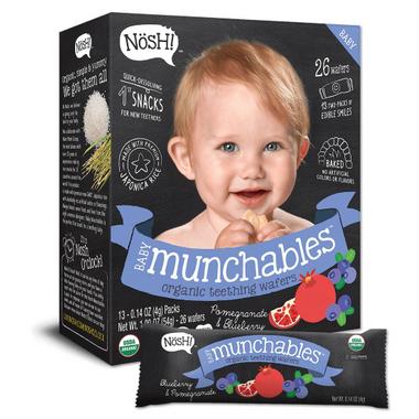 Nosh Baby Munchables Organic Teething Wafers