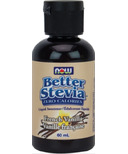 NOW Better Stevia Liquid Sweetener French Vanilla