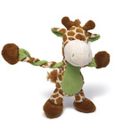 Charming Pet Products Pulleez Giraffe Dog Toy