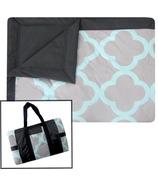 Tuffo Water Resistant Outdoor Blanket Quatrefoil