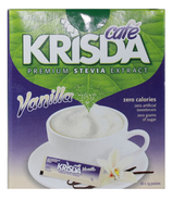 Krisda Cafe Vanilla Stevia Packets