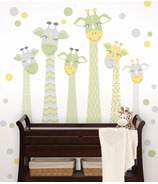 WallPops Meet the Fitzgeralds Large Wall Art Kit
