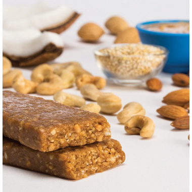 Zing Bars Coconut Cashew Crisp Nutrition Bars