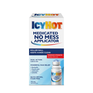 Icy Hot Medicated Roll No Mess Applicator