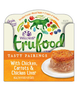 Wellness TruFood Wet Cat Food Tasty Pairings with Chicken, Carrots & Liver