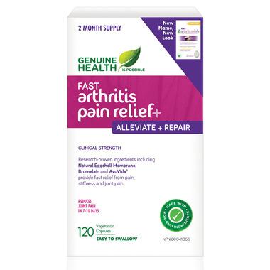 Genuine Health Fast Arthritis Relief+