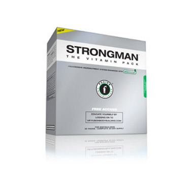 Fusion Bodybuilding STRONGMAN Vitamin Packs